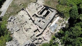 2 bin 700 yıllık Tieion Antik Kenti'nin kriptosu ortaya çıkartıldı