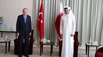 Türkiye Cumhurbaşkanı Recep Tayyip Erdoğan, Katar'da