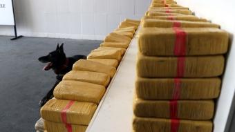Temizlik ürünleri yüklü minibüsten 375 kilogram eroin çıktı