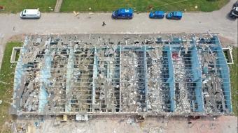 Sakarya'da patalama olan havai fişek fabrikasındaki çalışmalar devam ediyor