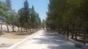 Barış Pınarı Harekatı bölgesinde parklar hizmete giriyor