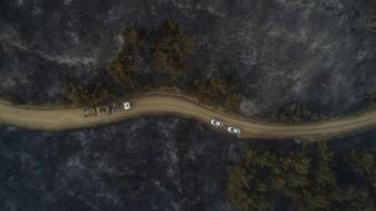 Gelibolu'daki yangının boyutu ortaya çıktı