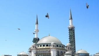Taksim Camii'de sona doğru! İşçiliğinin yüzde 65'i tamamlandı