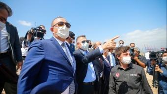 Cumhurbaşkanı Yardımcısı Oktay ve Dışişleri Bakanı Çavuşoğlu, Beyrut'ta