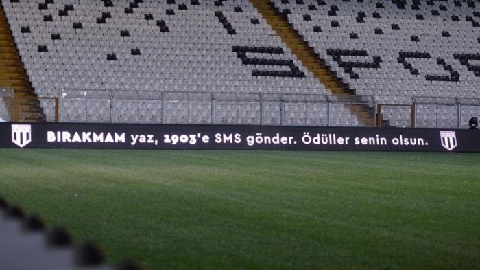 Beşiktaş'tan 'Ödül Senin' gecesi