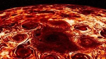 NASA'nın Jupiter fotoğrafı olay oldu! Binlerce insan pizzaya benzetti