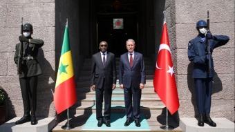 Bakan Akar, Senegal Silahlı Kuvvetler Bakanı ile görüştü