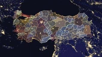 Sağlık Bakanlığı Koronavirüs vakalarını bölge bölge haritada açıkladı