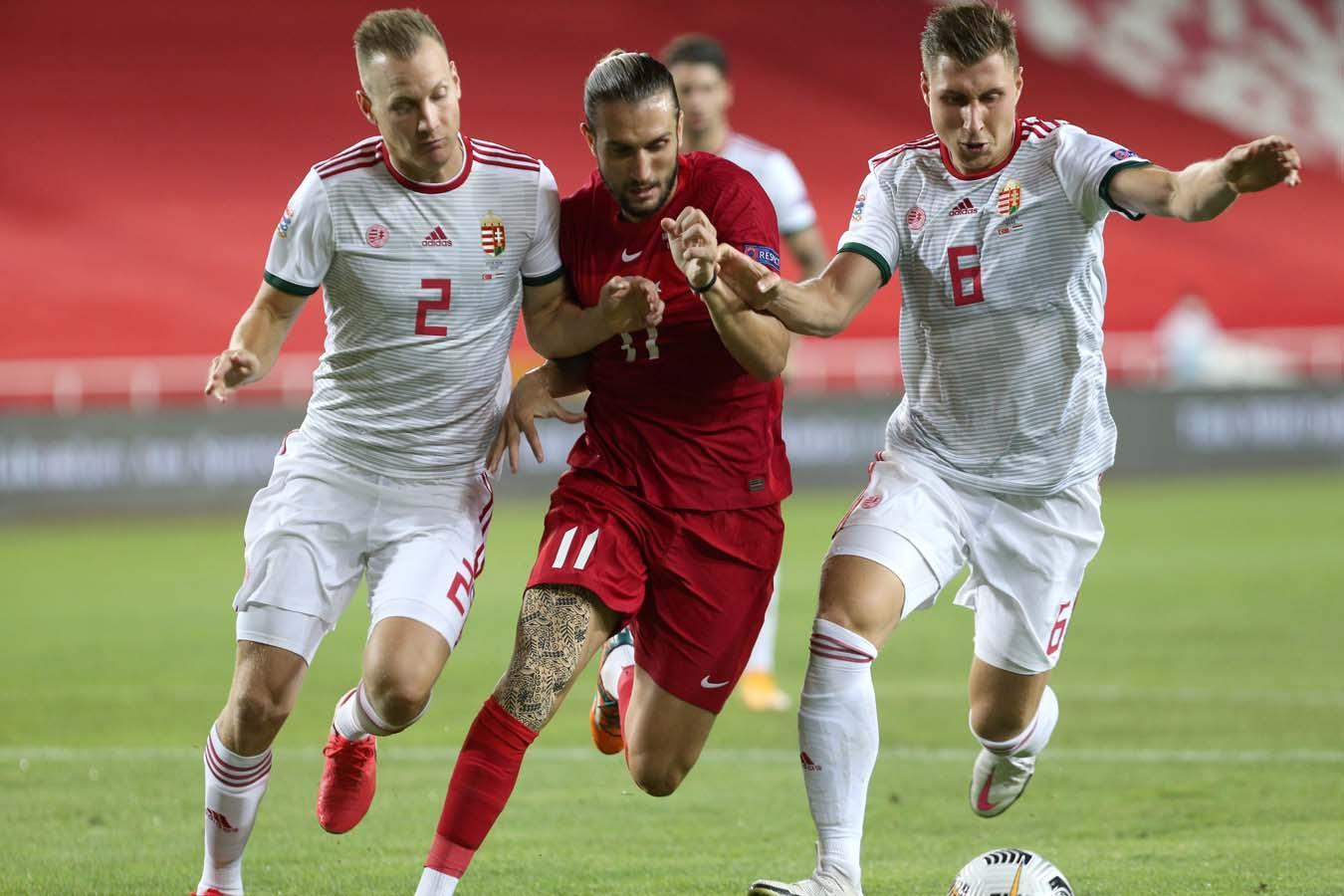 A Milli Futbol Takımımız, Macaristan'la karşı karşıya geldi! İşte karşılaşmadan kareler
