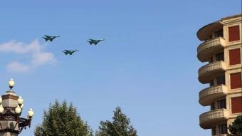 Türk F-16'ları Azerbaycan'ın Gence kentinde uçuş gerçekleştirdi