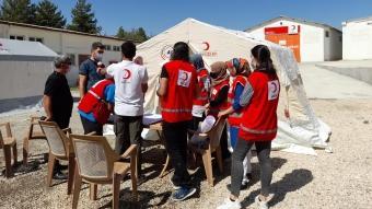 Elazığ'da ''Kızılay afet timleri'' oluşturuldu