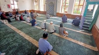 Gazi Minareli Cami tekrar ibadete açıldı