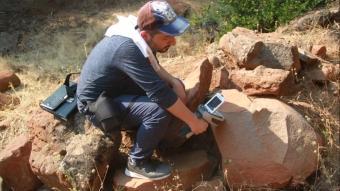 Yesemek Açık Hava Müzesi yakınlarında yeni kalıntılar tespit edildi