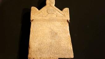 İtalya'dan Türkiye'ye iadesi sağlanan Lidya Yazıtı'nın tanıtımı yapıldı