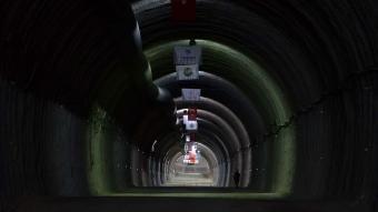 Çorum'daki Kırkdilim Tünelleri'nde ikinci ışık görüldü