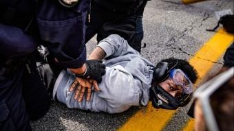 ABD'de polisin öldürdüğü siyahi Amerikalı Taylor davasında kararın ardından sokaklar karıştı