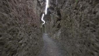 Bayburt'ta 3 bin yıllık yeraltı şehri: Aydıntepe