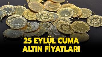 25 Eylül Cuma bugün altın fiyatları ne kadar, kaç TL oldu?