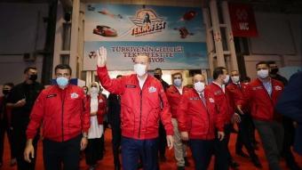 Cumhurbaşkanı Erdoğan, TEKNOFEST 2020'' etkinliklerine katıldı