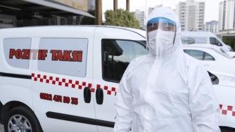 Koronavirüs testi pozitif çıkanlar hastaneye böyle gidebilecek! Pozitif Taksi Adana'da hizmete girdi