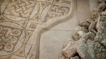 Zeytinburnu'nda bulunan tarihi mozaikler koruma altına alındı