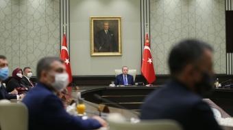 Başkan Erdoğan, Cumhurbaşkanlığı Kabine Toplantısı'na başkanlık etti