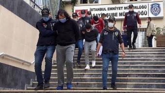 İstanbul'da 1 milyon 500 bin lira çaldığı iddia edilen şüpheliler yakalandı