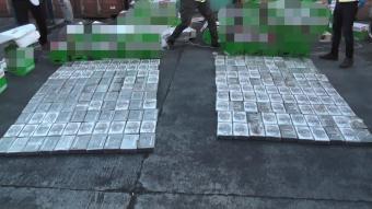Brezilya'dan gelen bir gemide 220 kilogram kokain ele geçirildi
