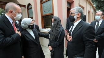 Başkan Erdoğan ve eşi Emine Erdoğan, Markar Esayan'ın cenaze törenine katıldı