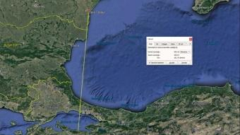 Halkalı karabatak 500 kilometre yol alarak Türkiye'ye geldi