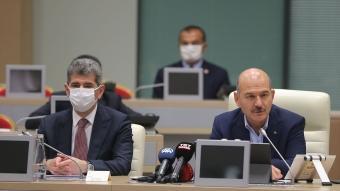 İçişleri Bakanı Soylu, İstanbul'da görev yapan kaymakamlarla görüştü