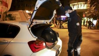 Ankara'da asayiş uygulaması! 750 polisin katıldı