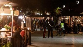 İtalya'nın başkenti Roma'da gece sokağa çıkma yasağı ilan edildi