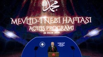 Başkan Erdoğan, Mevlid-i Nebi Haftası Açılış Programı'na katıldı