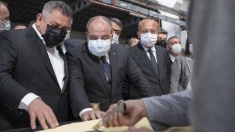 Sanayi ve Teknoloji Bakanı Varank, Denizli'de
