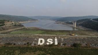 İstanbul barajlarındaki barajların su seviyesi de yüzde 30'a kadar geriledi