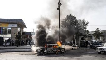 İşgalci Ermenistan yine sivilleri hedef alarak Berde şehir merkezini vurdu