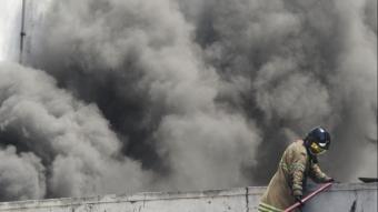 Brezilya^da korkutan hastane yangını! Hastalar sedyelerle dışarı çıkarıldı