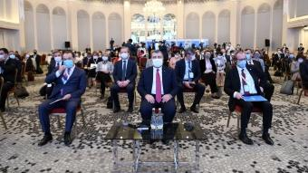 Bakan Koca, İstanbul'da Türk Konseyi Sağlık Bilim Kurulu Toplantısı'nın açılışına katıldı.