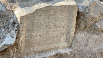 İznik'te yapılan kazılarda w1500 yıllık mesaj bulundu