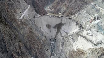 Yusufeli Barajı'nın tamamlanmasına 25 metre kaldı