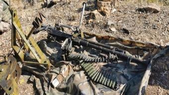 Zap ve Avaşin-Basyan'da silah, mühimmat ve yaşam malzemesi ele geçirildi