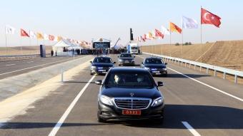 Bakanı Karaismailoğlu, Tekirdağ-Hayrabolu Yolu Kandamış Kesimi Açılış Töreni'ne katıldı