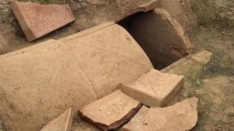 İznik'te Bizans ve Roma dönemine ait oda mezarlar bulundu