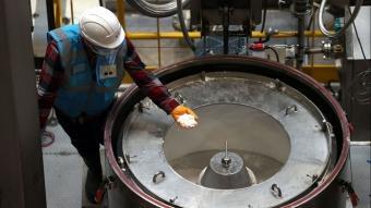 Türkiye'de ilk lityum tesisi açıldı! İşte ilk fotoğraflar