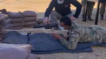 TSK'den Libya Silahlı Kuvvetleri personeline 'Üs Savunma Eğitimi'