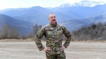 Azerbaycan Cumhurbaşkanı İlham Aliyev'in  Şuşa ziyaretinden kareler