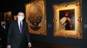 Başkan Erdoğan, Milli Saraylar Resim Müzesi Açılış Programı'na katıldı