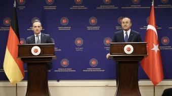 Bakan Çavuşoğlu, Almanya Dışişleri Bakanı ile görüştü