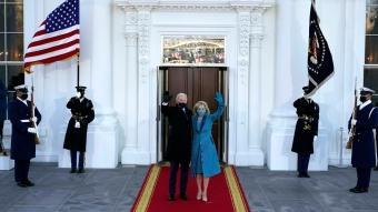 ABD'nin 46'ncı başkanı Joe Biden, Beyaz Saray'a geldi